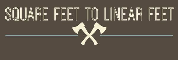 How To Convert Square Feet to Linear Feet | AdvantageLumber Decking ...