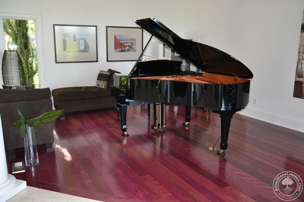 Wood flooring from advantagelumber for Purple heart wood flooring