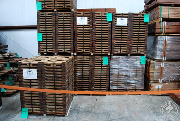 Our new FSC tiles in the FSC designated area of our warehouse.