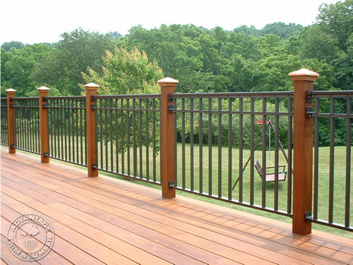 Dress Up Your Deck Posts Advantagelumber Decking Blog