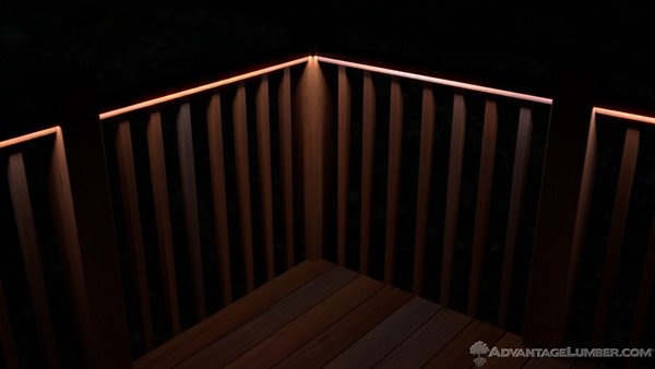 The 3 Types Of Deck Lighting You Need Advantagelumber Blog