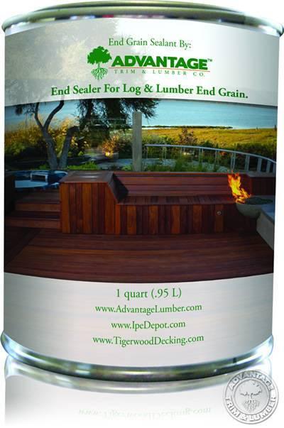 End Grain Sealant For Hardwoods Like Ipe
