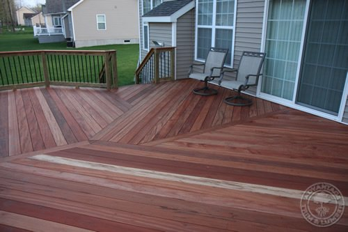 Learn from Deck Builder, Aaron Roberts, why Tigerwood decking is a great decking material to work with.