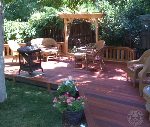 When you buy Tigerwood decking, you'll be using installing some of the most beautiful material anywhere.
