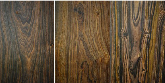 Cocobolo Wood Patterns