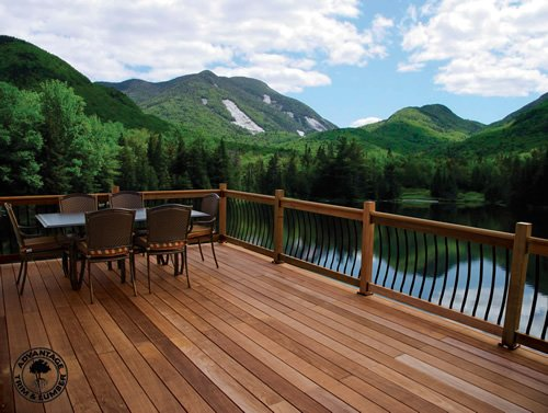 Ipe wood decking