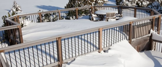 winter deck maintenance