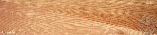 Plain Sawn Red Oak Wood