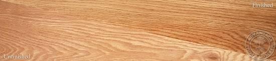 Plain Sawn Red Oak Wood