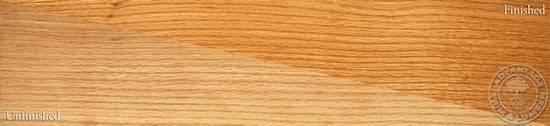 Rift Sawn Red Oak Wood