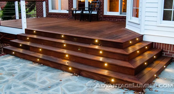 See your deck in a new light with Advantage Deck Lighting!