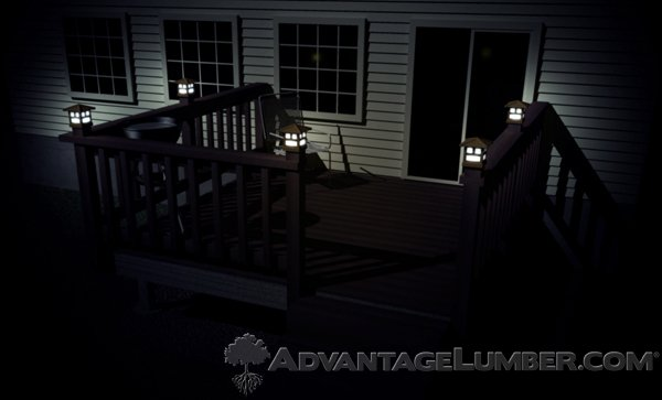 LED Deck Lights Last for Years and Produce a Cool Glow