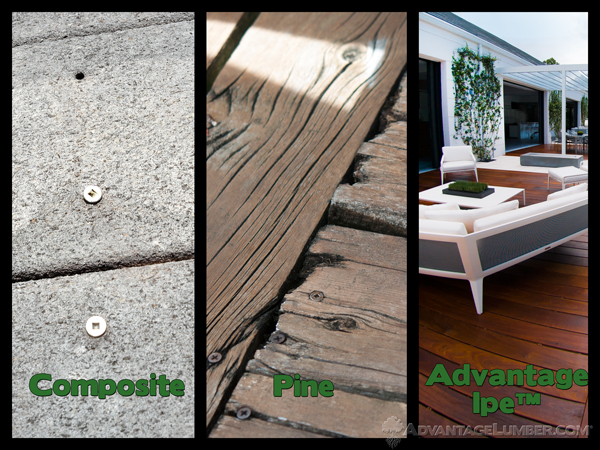 Which on of these materials do you want for your deck?