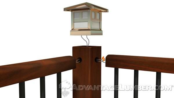 Deck Lighting Advantagelumber Decking Blog