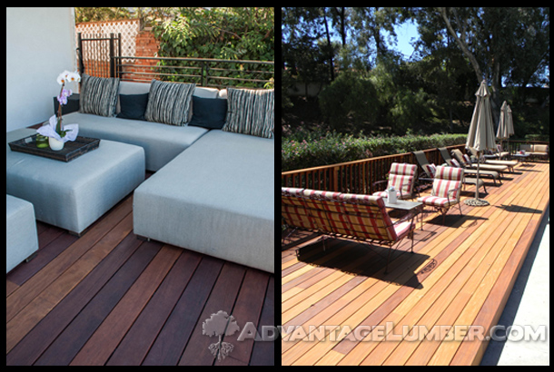 Advantage Cumaru™ decking offers a diverse range of beautiful colors.
