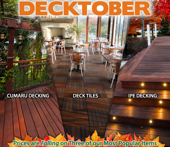 Decktober Decking Sale