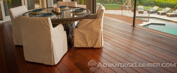 The beauty of Ipe Decking is matched only my its long term durability.