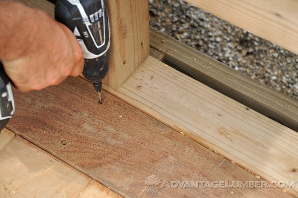 Predrilling your decking is important to ensure that it is installed properly and safely.