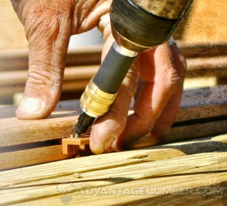 Predrilling is an important step when it comes to fastening hardwoods.