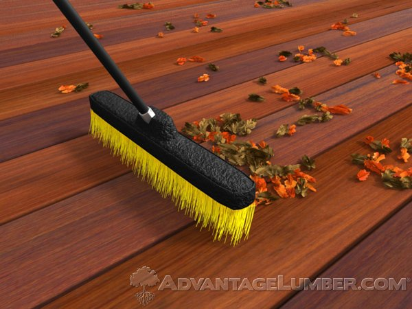 Something as simple as routinely sweeping your deck off can aid in it's lifespan.