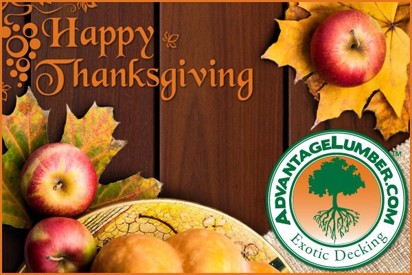thanksgiving decking sale
