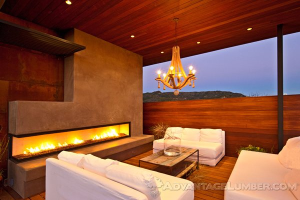 Decks with Firepits