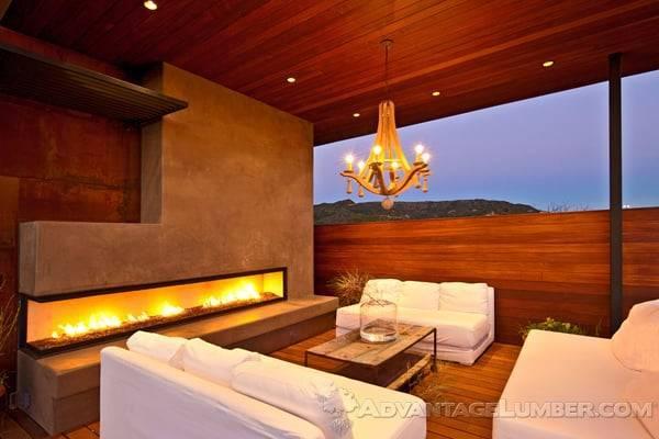 Decks with Firepits
