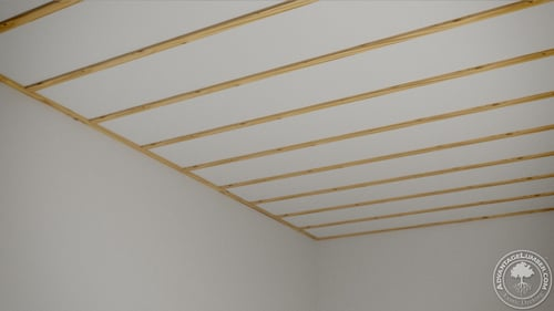 Poplar Wood Ceiling Easy How To Advantagelumber