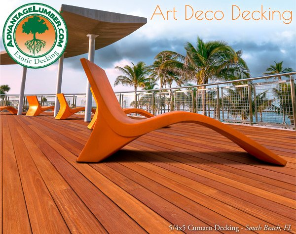 We've brought back South Beach's Art Deco Decking