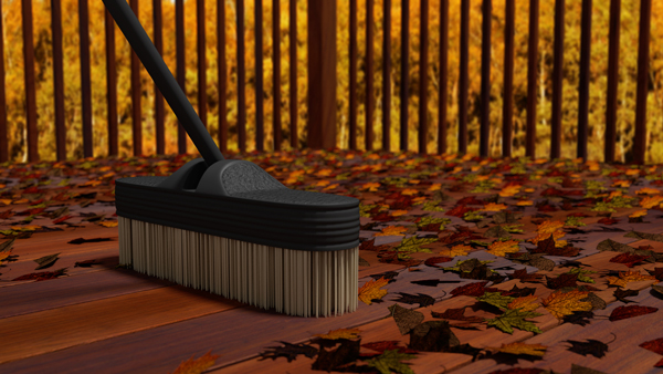 Sweeping is pivotal to maintaining your deck from developing mold mildew and other problems