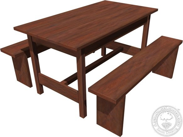 Modern Picnic Table AdvantageLumber Decking Blog - Modern picnic table designs