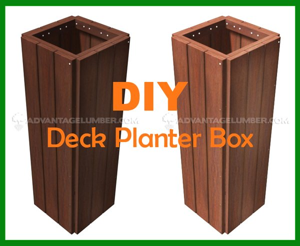 Deck Planter Box