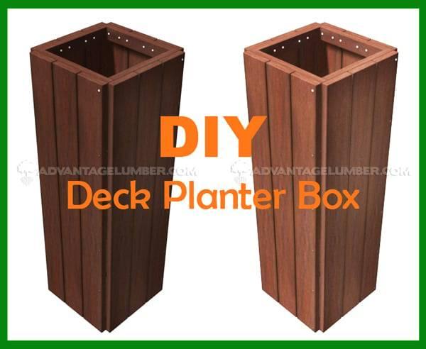 Deck Planter Box