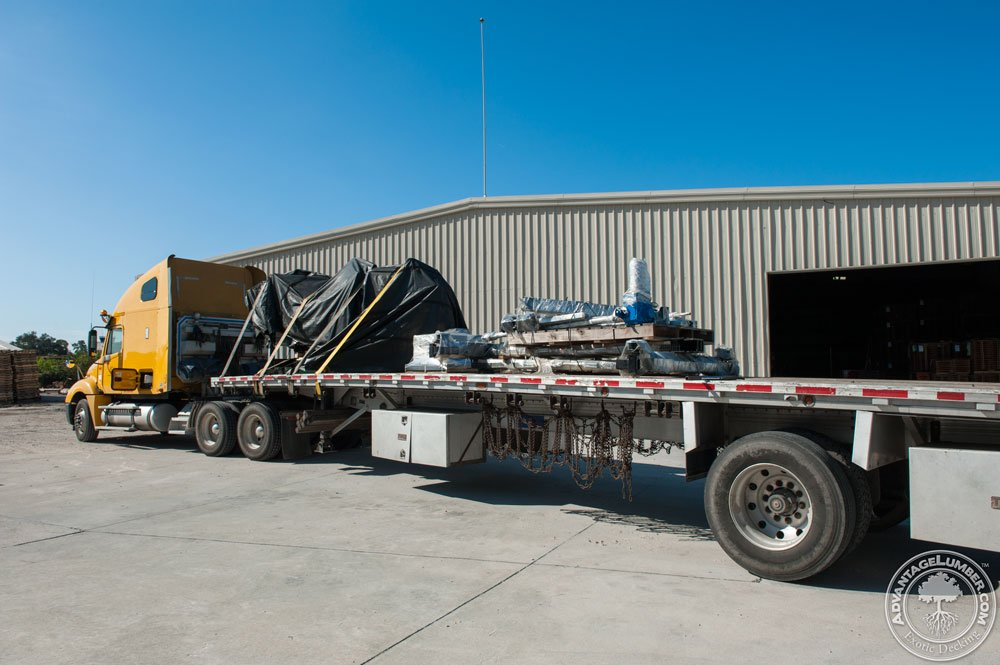 Florida sawmill delivery