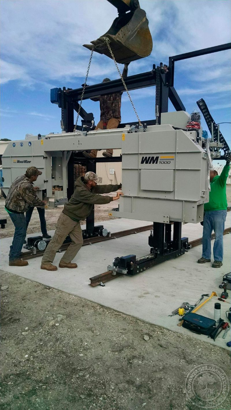 New Woodmizer Added to Our Florida Sawmill - AdvantageLumber