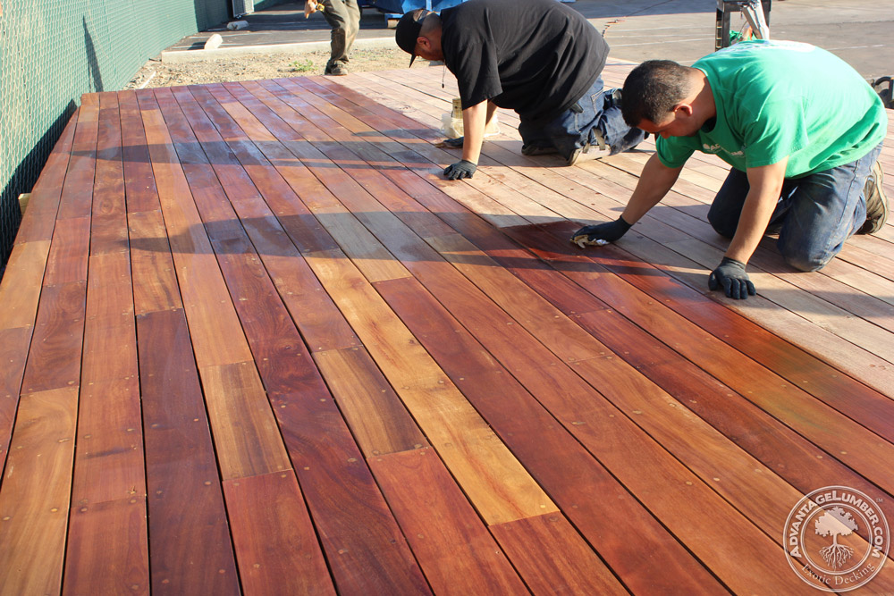 Oiling your deck and refinishing your entire deck will help it weather the winter much easier