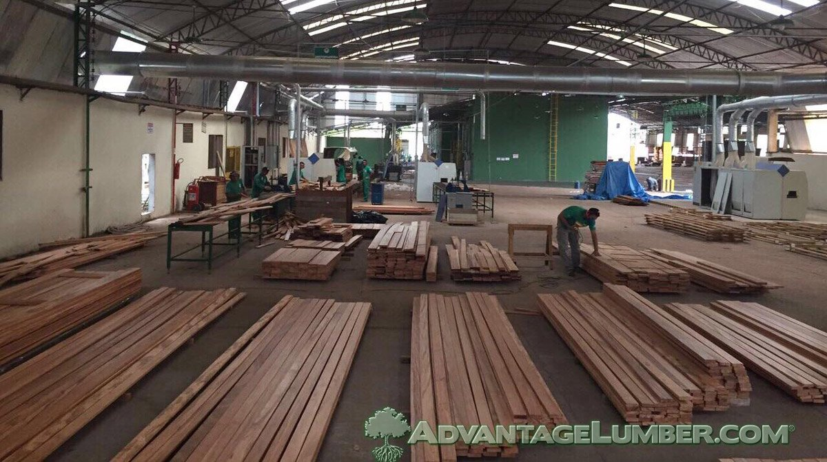 FSC Tigerwood Brazil Mill