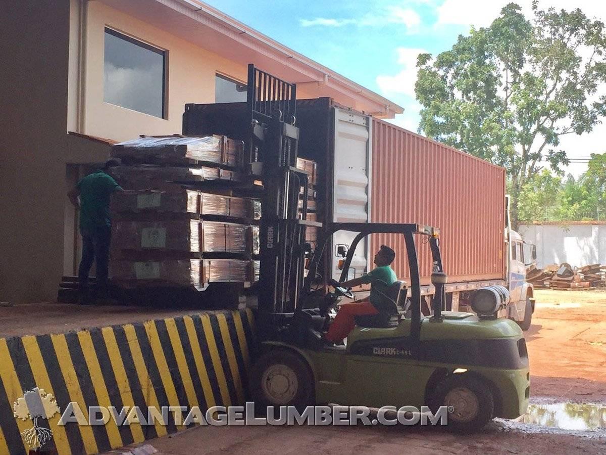 FSC Tigerwood Brazil Mill Container