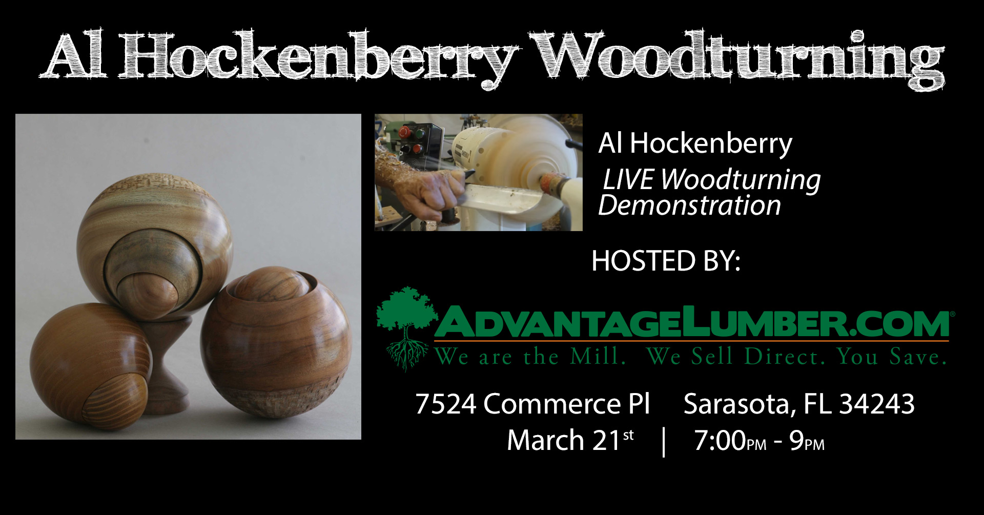 wood turners meeting march