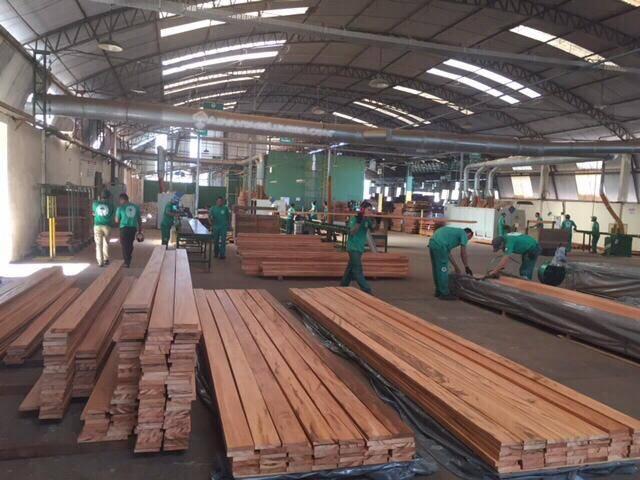 FSC Tigerwood Decking