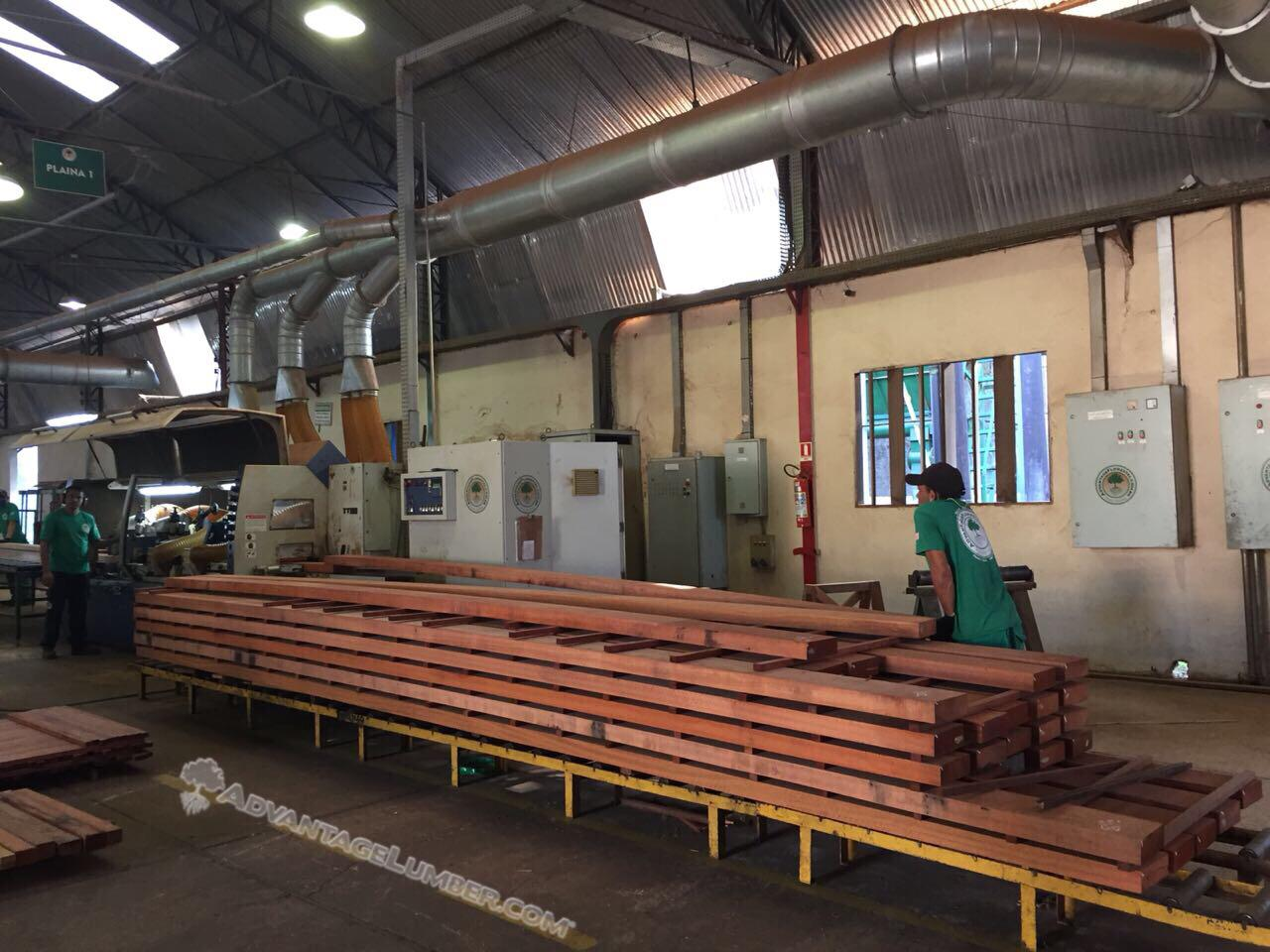 Jatoba Brazilian Cherry Beams