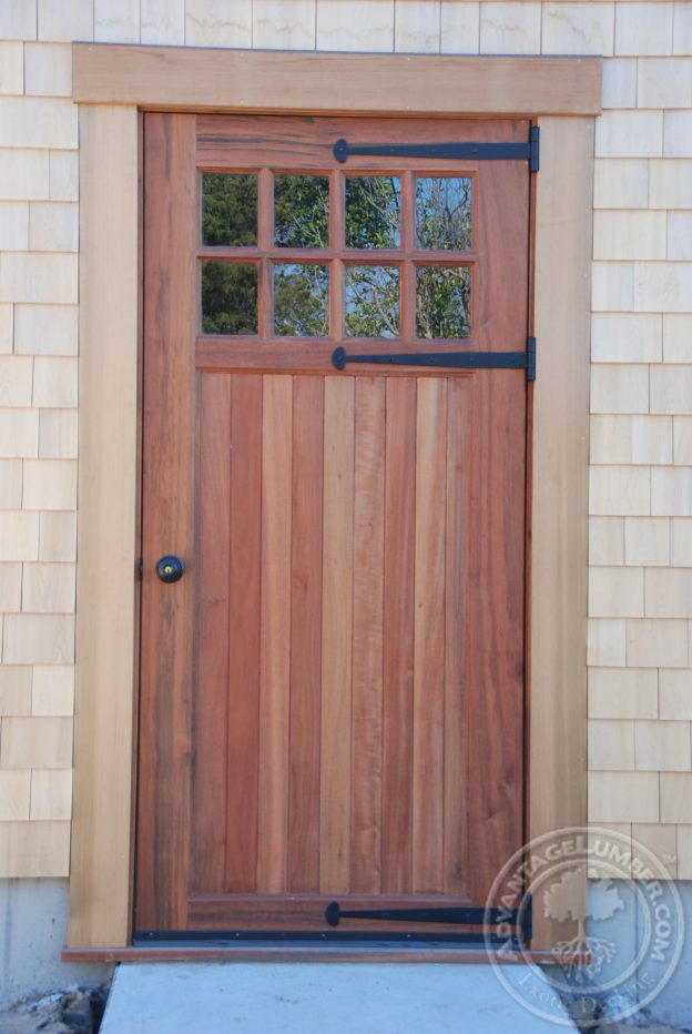 tigerwood barn door