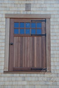 hayloft tigerwood door