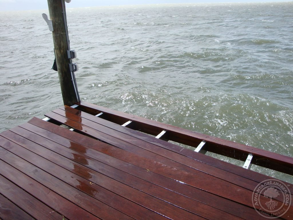 hurricane proof boat dock