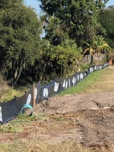 silt fence stakes