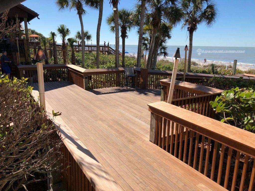 4675b59ee00438 The Ritz Carlton in Naples Florida Adds Advantage Ipe Wood -  AdvantageLumber Decking Blog