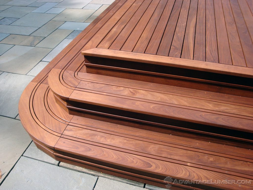 4 Inch Ipe Wood Decking