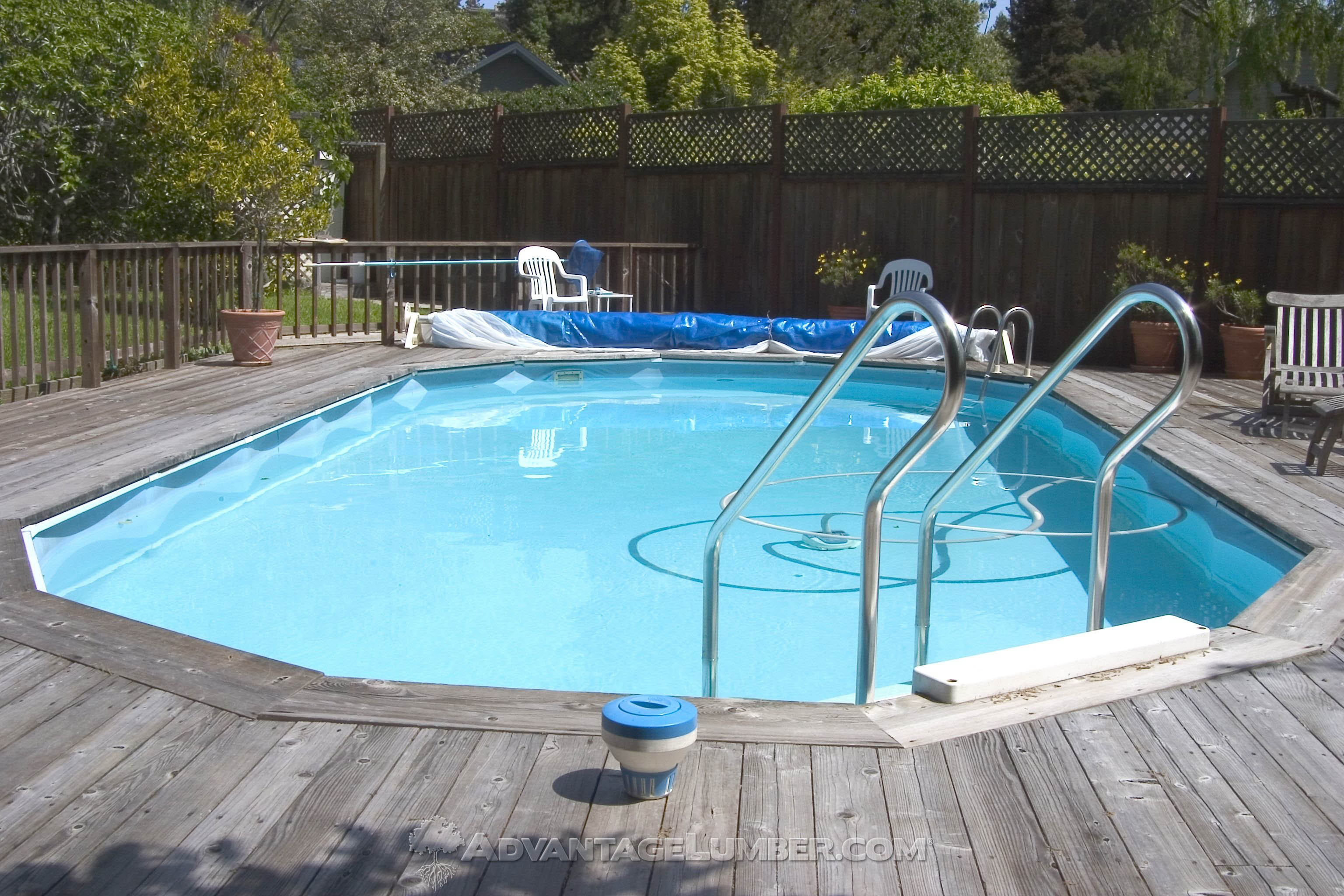 Best Decking For Above Ground Pools, What Is The Best Material For An Above Ground Pool Deck
