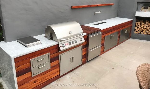 Best Wood for Outdoor Kitchens