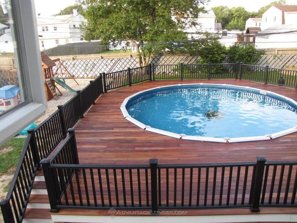 Best Decking For Above Ground Pools Advantagelumber Blog